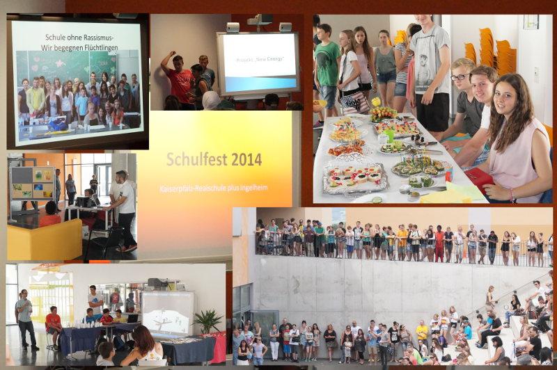 Projektwoche mit anschließendem Schulfest (21.7. bis 24.7.2014)