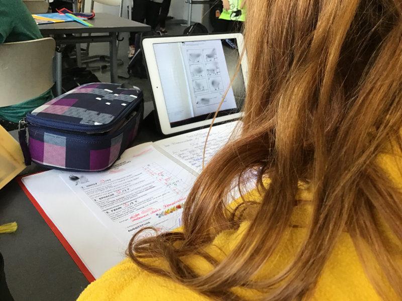 Tablets im Unterricht – als Lernhilfe